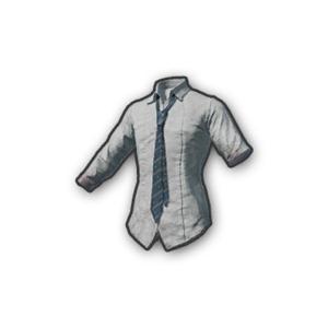 School Shirt with Necktie