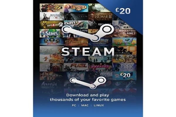 Steam wallet Code 20