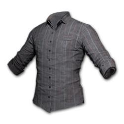 Striped Shirt Gray