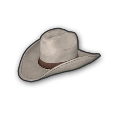 COWBOY HAT WHITE